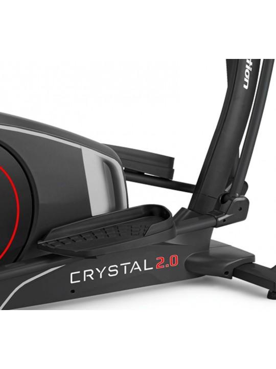 Bicicleta elíptica BH Crystal 2.0