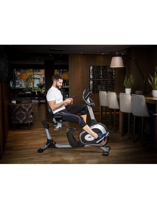 Bicicleta estática BH Artic Comfort Program